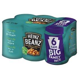6 x 415g Heinz Baked Beans £2 @ Asda