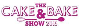 Free cake and bake show tickets in Manchester or Edinburgh (with £1.70 transaction fee)