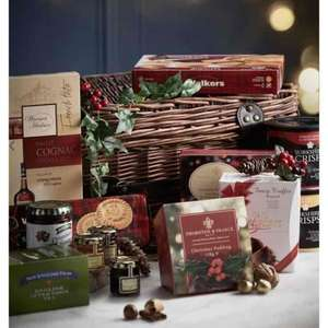 Festive Food Hamper was £80 Now £40 Plus Additional 20% Off With Code £32 @ BHS