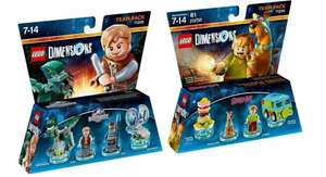 LEGO Dimensions Teams Packs - Jurassic World and Scooby Doo - £18.87 each or £33.54 (or less) delivered for BOTH from Amazon.de!