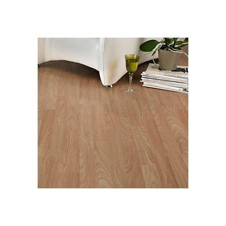 B&Q Oak Effect 3 Strip Laminate Flooring 3 m² £9.00 - HotUKDeals