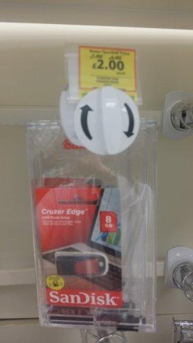 SanDisk Cruder Edge 8gb USB Flash Drive - £2.00 Tesco in store