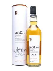 Ancnoc 12yr old Malt Whisky (70cl) RTC £16 instore Tesco