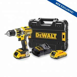 dewalt drill with 2 batteries £119.99 at selcos