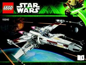 LEGO Star Wars Red Five X-wing Starfighter (10240) Brand New @ EBay dance tunes - £129.99