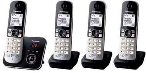 eBay/Argos: Panasonic KX-TG6824 Cordless Quad Telephone Set with Answer Machine: £47.60 Delivered (with Code)