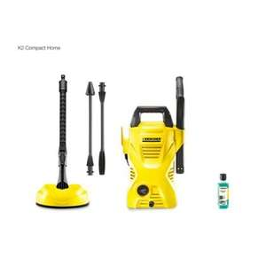 Karcher K2 Compact home with T50 Patio Cleaner and Patio & Deck Detergent £49.99 @ Homebase C&C