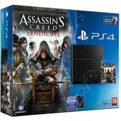 PlayStation 4 500GB Console With Assassin's Creed Syndicate,Watch Dogs,Uncharted: The Nathan Drake Collection, Driveclub & 3 Months Now TV (Entertainment) £299.99 Delivered @ GAME