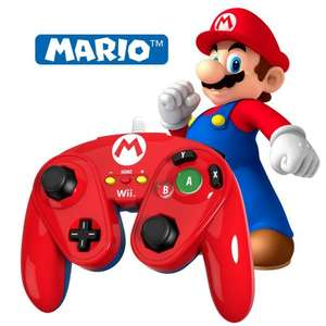 PDP Replica Mario Wired Gamecube Controller Wii U - £11.96 (With Code) - 365Games (Luigi/Wario/Donkey Kong - £12.59)