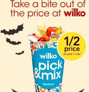 BETTER THAN HALF PRICE CANDY KING PICK & MIX from 42p @ Wilko