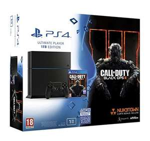 Pre-order PlayStation 4 console Jet Black 1TB + Call of Duty: Black Ops III£287.03 @ amazon.fr