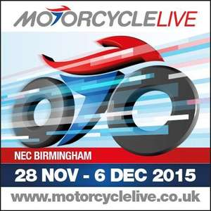 FREE Motorcycle Live Ticket @ NEC if you own a Suzuki GSX-R Bike