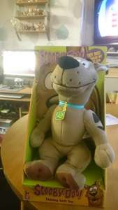 scooby doo talking soft toy scanning at £5.50 @ tesco think it was £20 originally