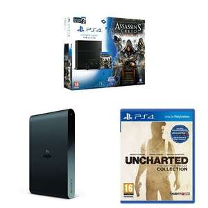 PS4 1TB Assassin's Creed Syndicate + Watchdogs + Uncharted Collection + PS TV £329.99 @ Amazon UK