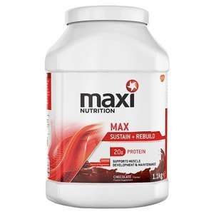 Maxi Nutrition Sustain & Rebuild 1.1kg - £11.90 @ Home Bargains