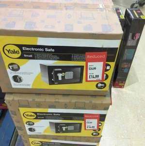 Yale electronic safe - Aldi Wolverhampton Stafford road, down to £14.99 from £24.99, it's a steal!