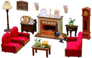 Amazon Deal - Sylvanian Living Room £12.42 (prime) £17.17 (non prime) @ Amazon - Lightning Deal