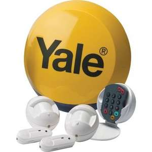 Yale Wireless Alarm Kit - £74.99 + 10% Quidco cash back & Free delivery @ Robert Dyas