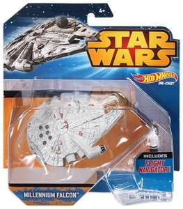 Star wars hot wheels diecast starships 50%off stocking filler. - £3.25 @ Sainsbury's