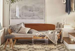 FREE delivery plus 20% off at zara home. today only