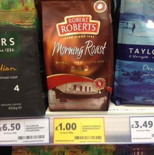 Robert Roberts morning roast 227g filter coffee only £1 @ Tesco Northcott