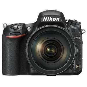 Nikon D750 D-SLR with 24-120mm F4 Lens £1849.00 @ T4 Cameras (£1699 with trade in)