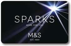 Dine in for 2 M&S - Main + Side + Dessert + wine or 2 beers for £9 when you signup for Sparks plus bi weekly offers and possible birthday treat