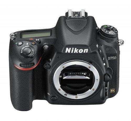 Nikon D750 D-SLR Camera Full-Frame (24.3MP) 3.2 inch LCD £1377.00 @ Amazon