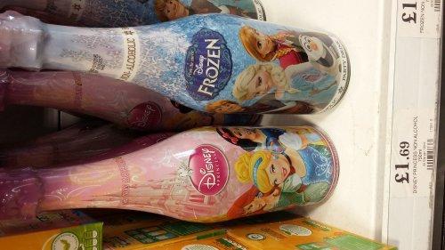 Disney Frozen/Princesses Children's Sparkling Fruit Juice Drink £1.69 Home Bargains Cape Hill