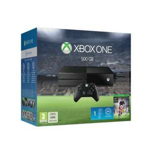 Xbox One 500GB Console Inc FIFA 16 plus 1 month EA Access + 3 Month Gold Membership w/ a choice of 4 Premier Titles (Halo 5, BOPS3, Rise of the Tomb Raider or Battlefront)  £298.85 @ Shopto