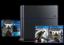PS4 500gb + 4 Free games ( Assassin's Creed: Syndicate + Watchdogs + UNCHARTED: The Nathan Drake Collection + God of War 3 (III) Remastered) and thumb grips £298.95 delivered from Shopto