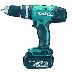 Makita DHP453RF Cordless Hammer Driver Drill 18v £79.99 with code @ Wickes