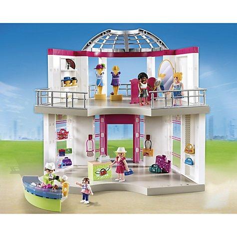 Playmobil City Life Shopping Centre 5499 £30 @ John Lewis