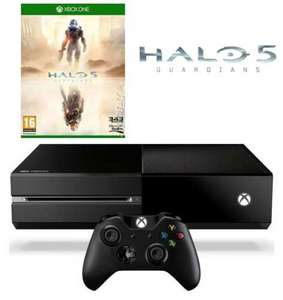 Xbox One 500gb Console & Halo 5: Guardians (Xbox One) £248.20 Delivered (Using Code) @ HMV.ie
