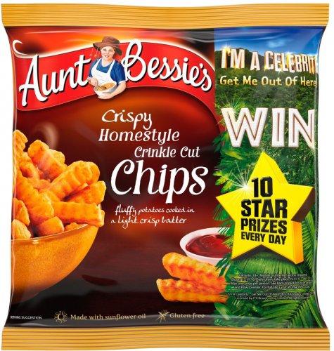 Aunt Bessie's Crispy Homestyle Crinkle Cut Chips (GLUTEN FREE)  (900g) ONLY £1.00 @ Asda