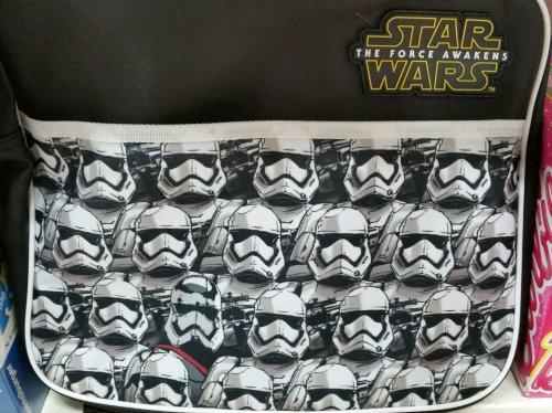 Star Wars The Force Awakens Courier Messenger Bag £2.25 Instore @ Tesco
