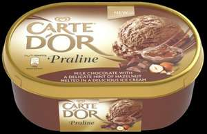 900ml Carte D'or Ice Cream Dessert All Flavours for £1.50 @ Farmfoods