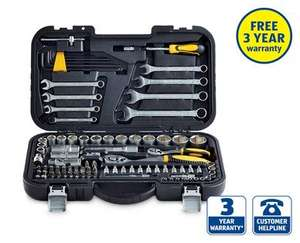 99 Piece Wrenches and Sockets Set | Aldi | £39.99