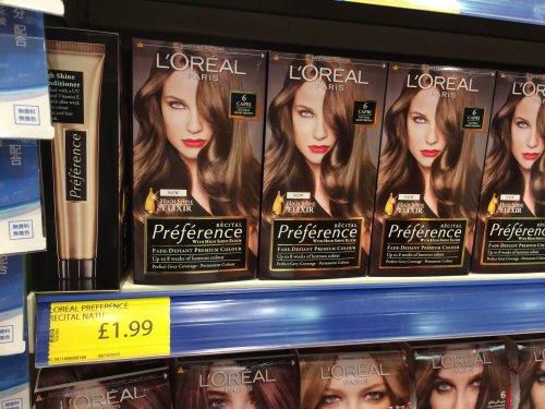 L'Oréal Paris Recital Preference Hair Colourant £1.99 @ Family Bargains