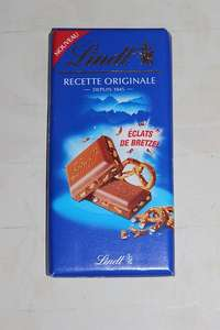 Lindt Recette Originale Eclats de Bretzel (Milk Chocolate With Pretzel Pieces) 100g 89p @ Home Bargains Instore