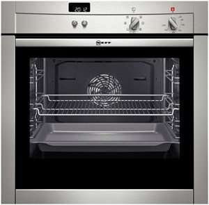 Neff B44 Slide and hide fan oven, stainless steel £499.99 @ Currys (-£70 trade-in, possible £43 cashback)
