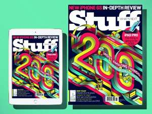 Stuff Magazine - 1 year printed subscription for only £20 (67% off - £1.66 per issue)