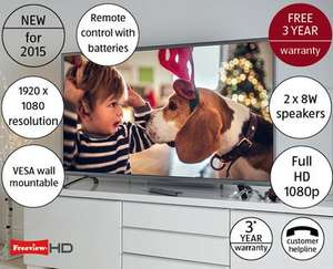 "55"" Full HD TV £399.99 at ALDI from 1st Nov"