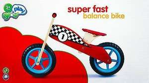 Grow and play balance Bike £14.99 at Sainsbury's