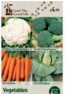 Vegetable Seed Collection 49p @ Lead The Good Life