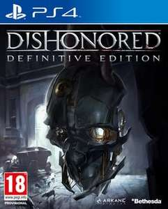 Dishonored: Definitive Edition (PS4/Xbox One) £13.50 Delivered @ GAME (Amazon With Prime)