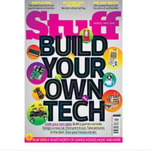 Stuff Magazine 'Christmas Sale' 3 issues for £1 (DD subscription payment)