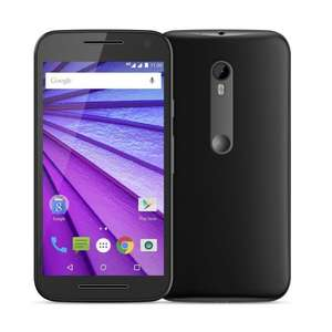 Motorola Moto G 3rd Generation 2 GB RAM/16 GB ROM 4G LTE UK SIM-Free Smartphone - Black (Amazon Exclusive) £169.99 @ Amazon