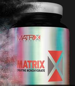 Matrix creatine tablets £3.99 P&P @ Supplement Centre