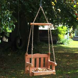 Swingseat Bird Feeder £15.96 @ Natural Collection